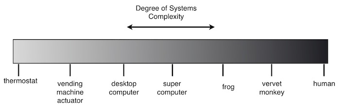 object vs systems complexity gradient