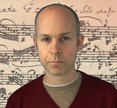 Mark Pharoah - the violinist